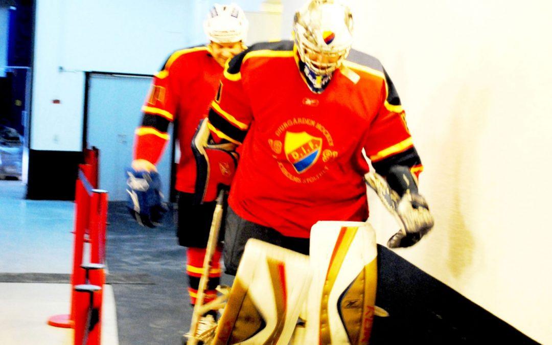 Hockeyevent med minimässa
