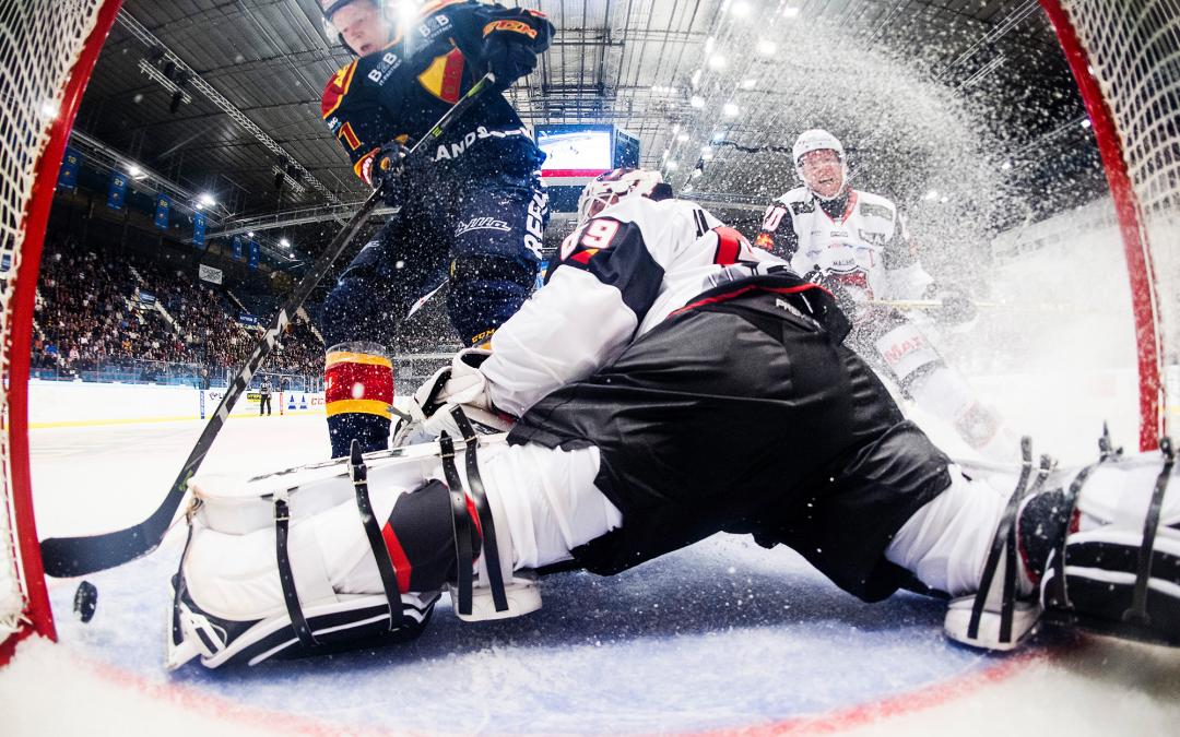 Hockeyevent med IT-mässa
