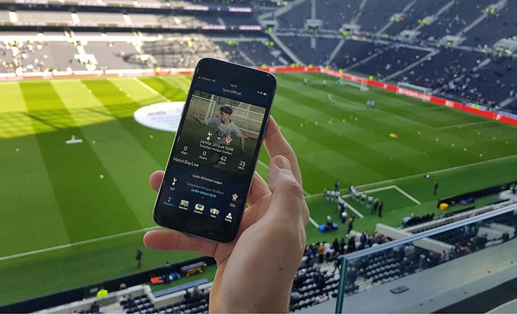 Mobilapp_Kundresa med studiebesök på Tottenham Stadium