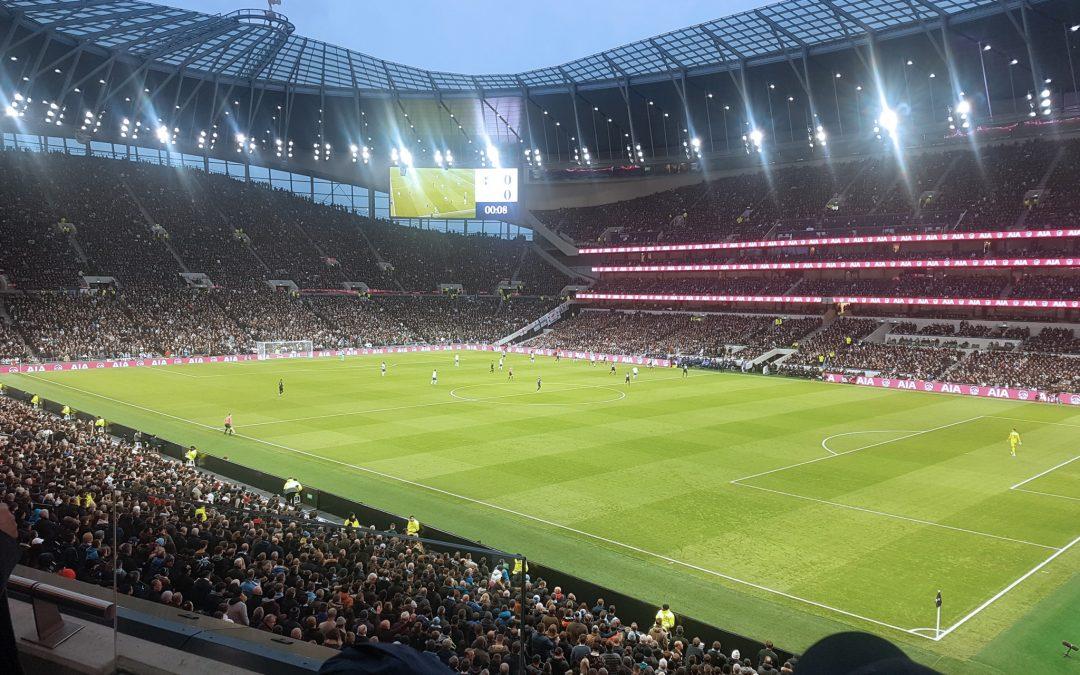 Kundresa med studiebesök på Tottenham Stadium