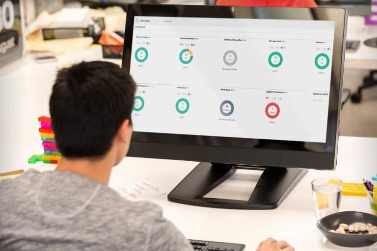 Håll koll på din infrastruktur med HPE Oneview
